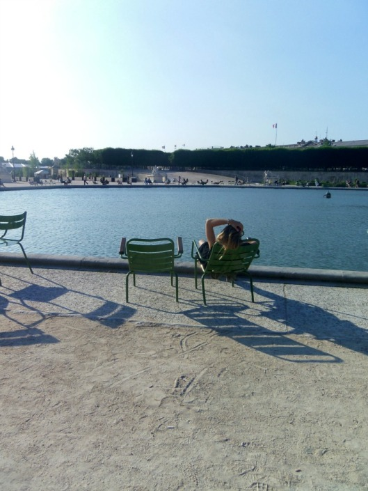 détente aux Tuileries