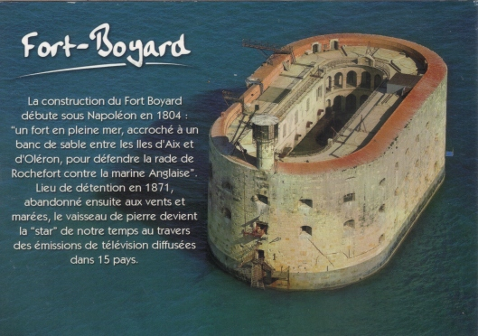 Fort boyard carte postale 06-07-2013 20;22;01