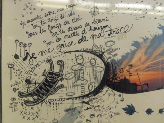 Instant T : poésie et street art dans le métro