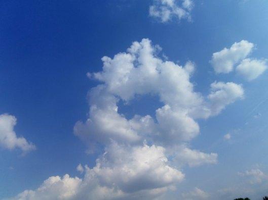 rond de nuages
