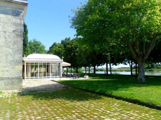 terrasse de l'hôtel de la corderie royale