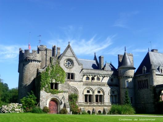 Les beaux châteaux de la Manche