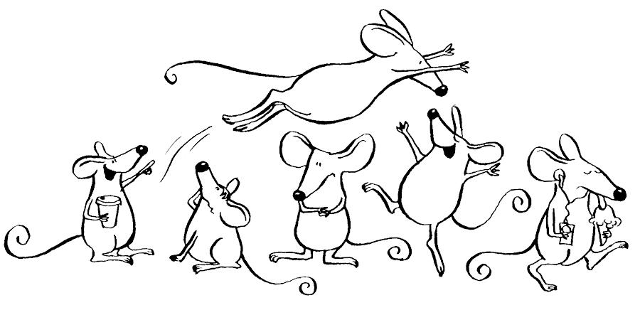 R habilitons les rats mon beau manoir - Petite souris qui danse ...