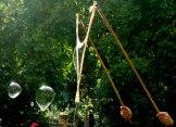 main de magiciens de bulles