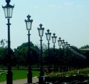 les lampadaires du Parc des Tuileries
