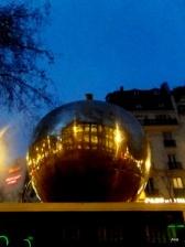 Paris in an apple