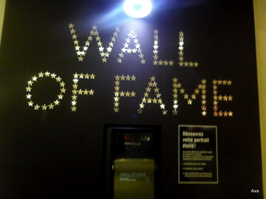 wall of fame -