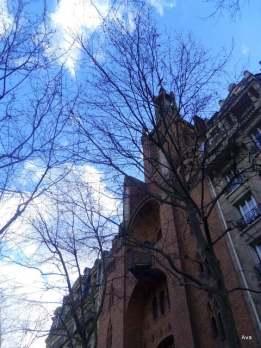 Une église dans le 12e arrondissement Paris