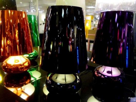 lamp, light, reflection