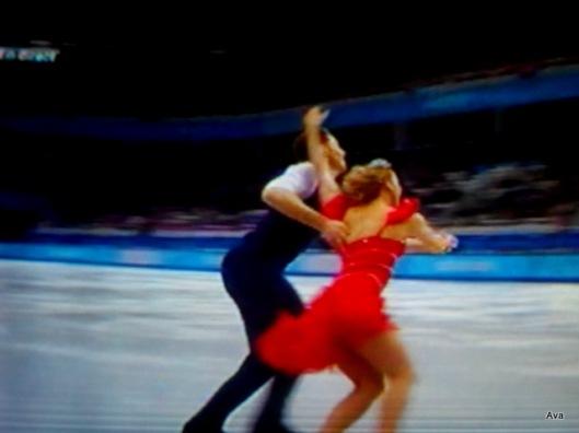 patinage danse Sotchi couple américain