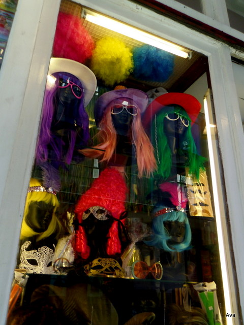 perruques de couleurs