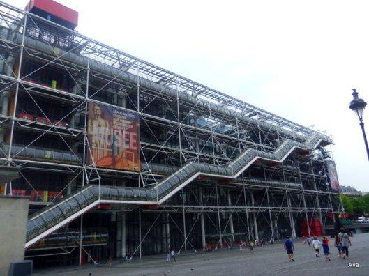 escalier_centre pompidou