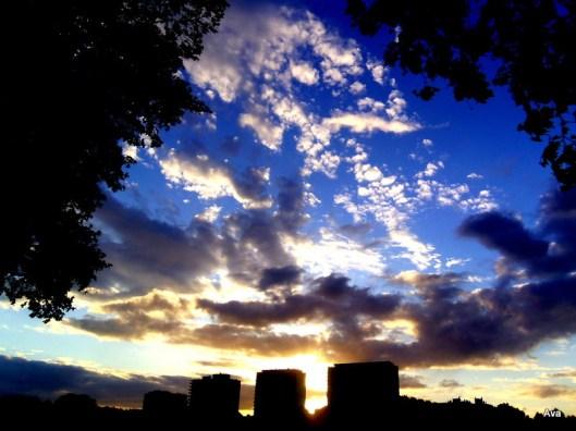 sky, art