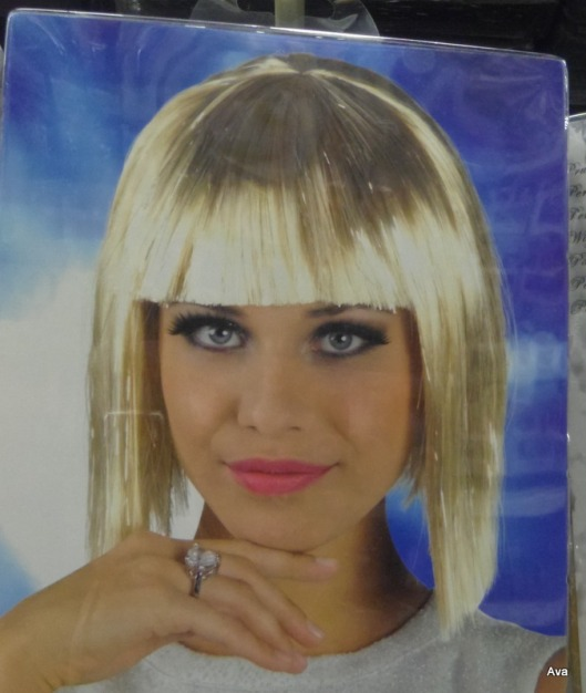 perruque, blonde
