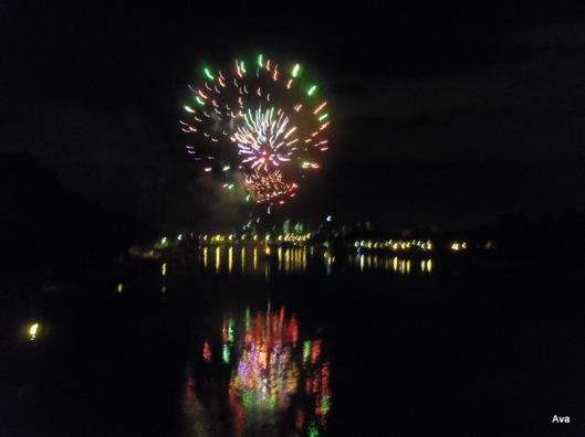 feu d'artifice, France, 14 juillet, Seine