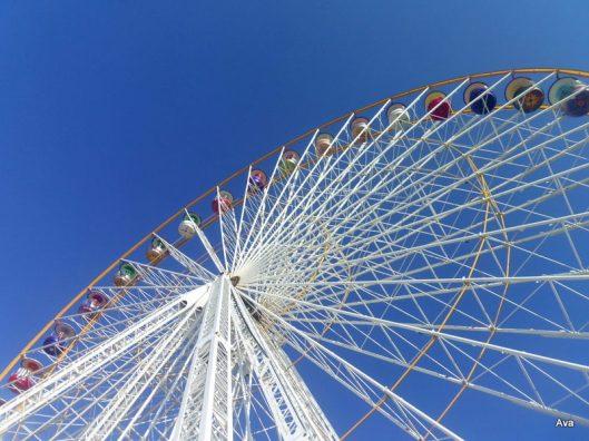 grande roue, hôtel de la place