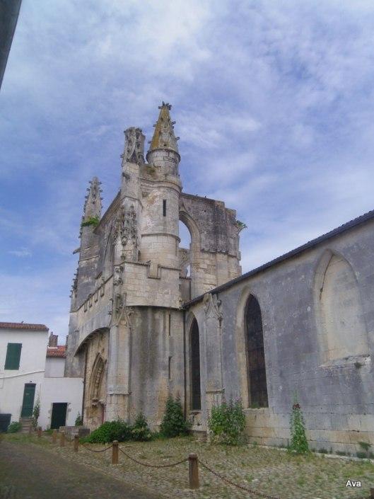 clocher, église, île de ré