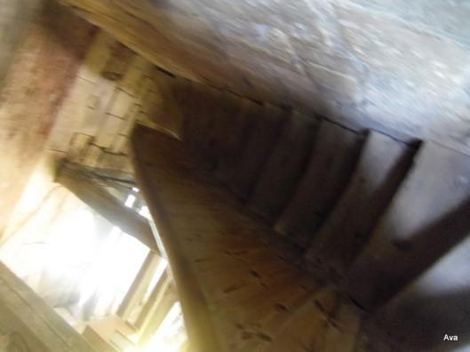 escalier, clocher