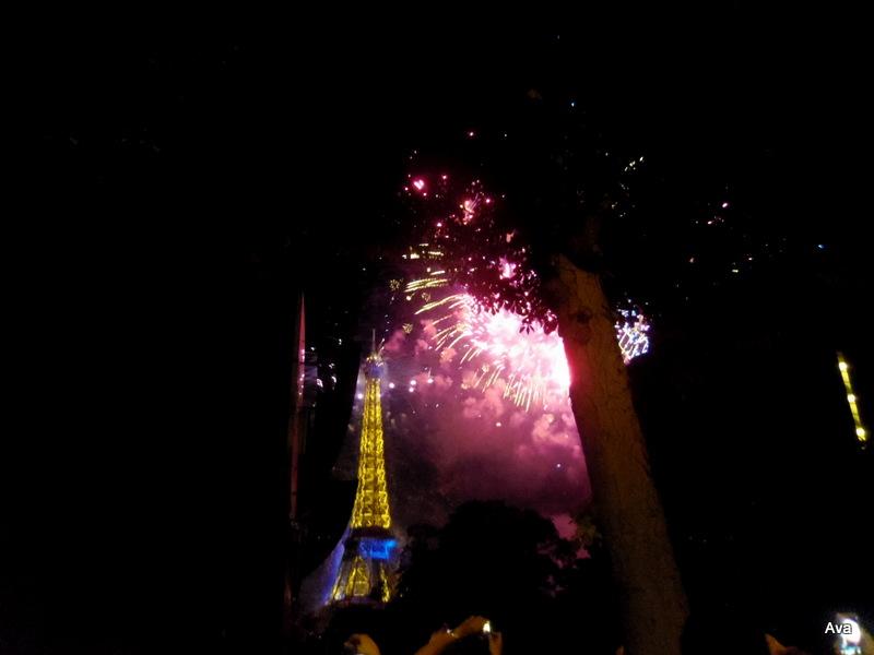 Tour Eiffel, 14 juillet