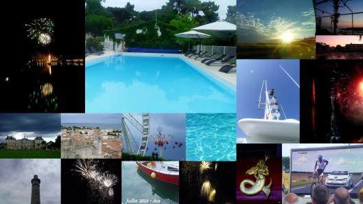 rétrospective du mois de juillet 2014
