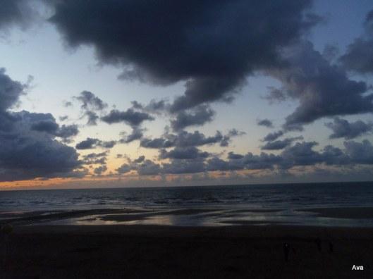clouds, night