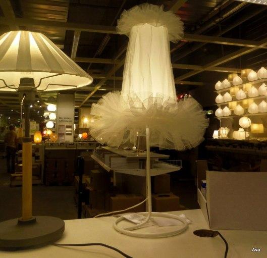 lampe jupon ballerine