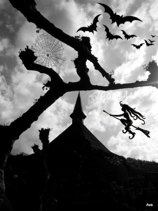 defi arbre Halloween