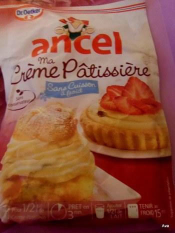 creme pâtissière Ancel