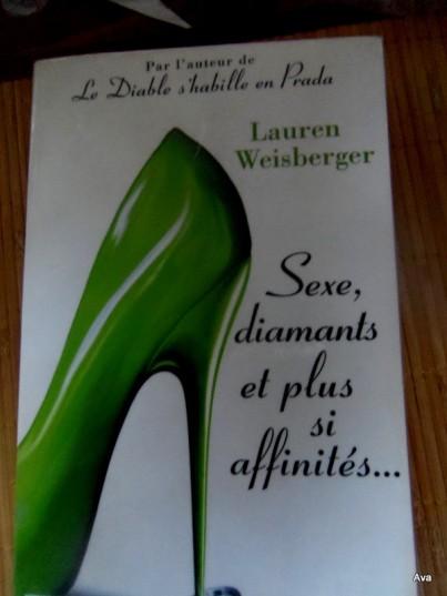 Sexe, diamants et plus si affinités, livre