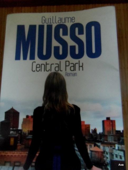 central park, livre, guillaume Musso