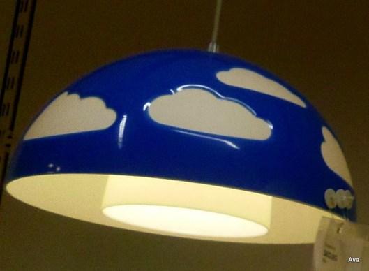 lampe à nuages