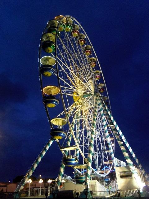 la grande roue de Royan - Charennte Maritime