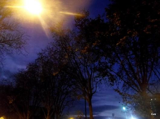 la nuit est tombée