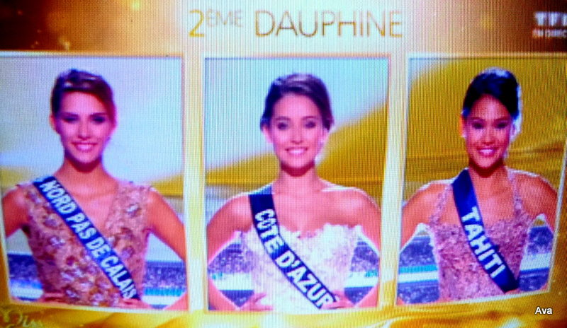 Miss France 2015 et ses dauphines