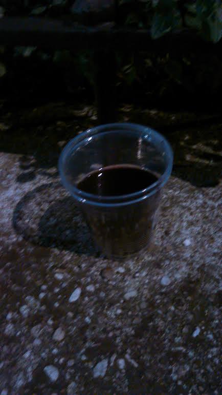 vin chaud sur le parapet !