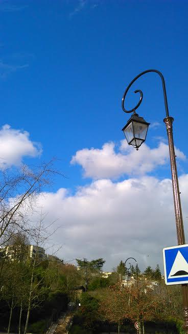ciel de février St Cloud
