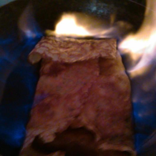 crepes flambées