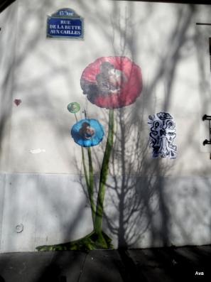 lundi street art rue de la butte aux cailles