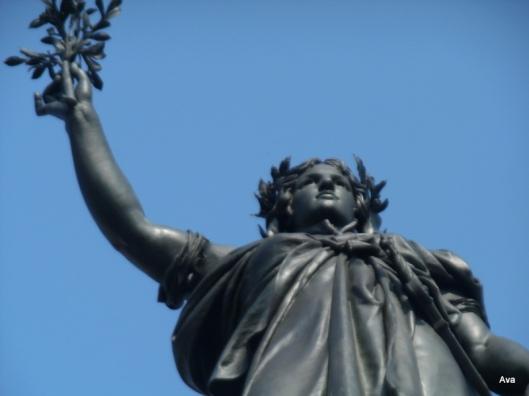 statue place de la République, Paris