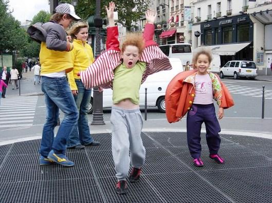 3.Dancing in the street