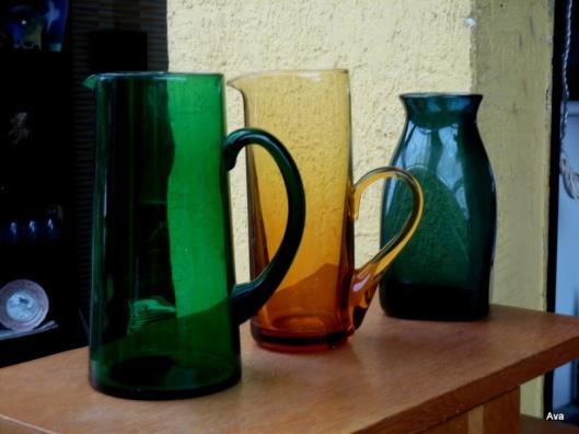 beauté du verre coloré