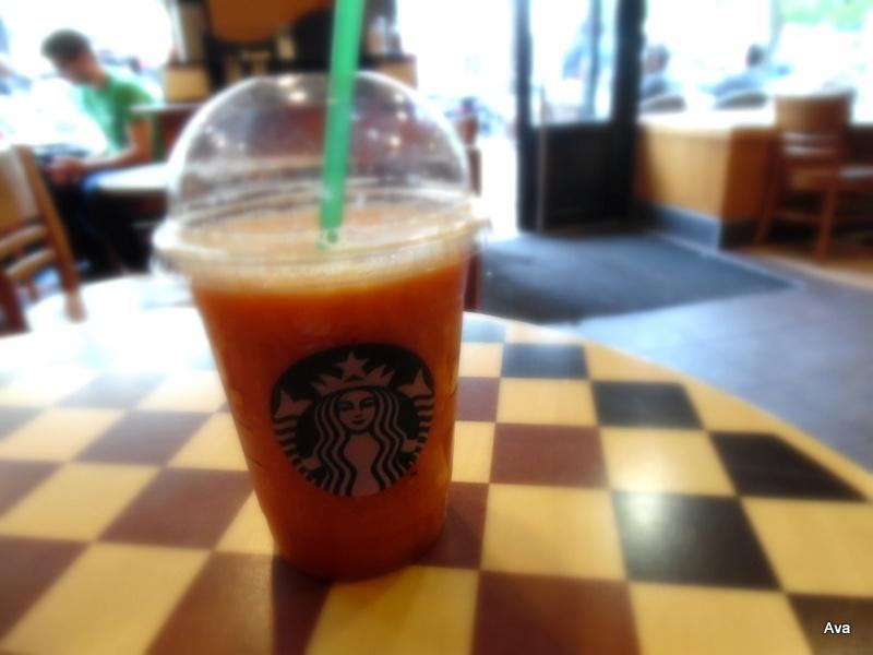 Starbuck jus de fruit