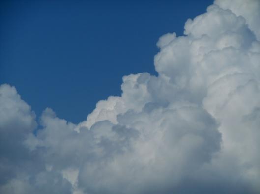 nuages mousseux