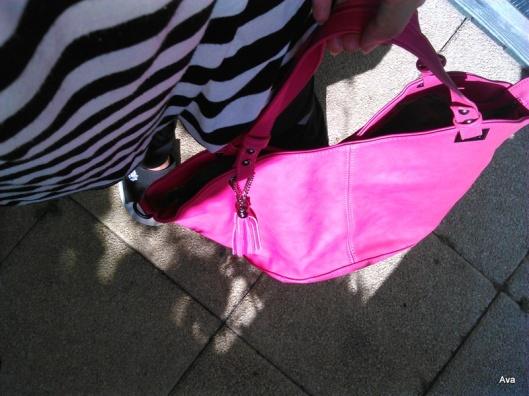 sac de l'été rose