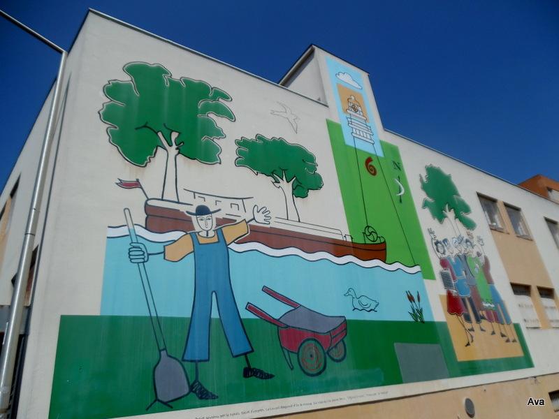 D coration urbaine ou street art un air de bretagne dans for Decoration urbaine