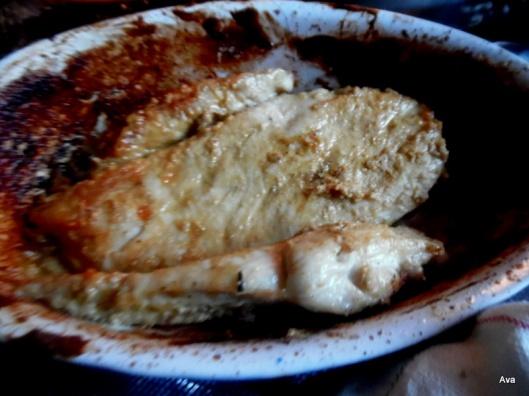 filet de poulet à la moutarde