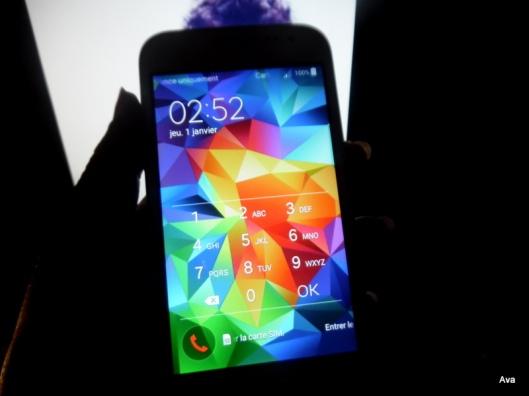 téléphone, mobile