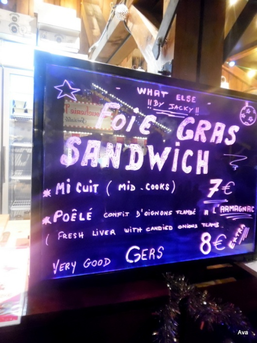 sandwich foie gras