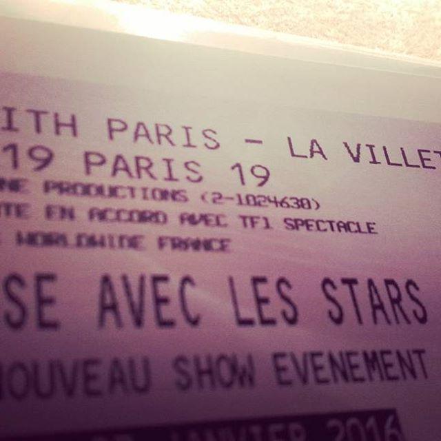 billet pour tournée Danse avec les Stars au Zénith