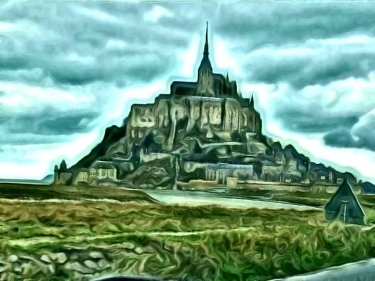 Mt St Michel à effet
